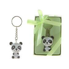 12pc Panda Key Chain Baby Shower Favors Lunaura Keepsake  Gifts Boy & Girl