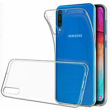 Case Cover For Samsung Galaxy A10 A20 A20e A30 A40 A50 A70 M10 Clear Gel Rubber