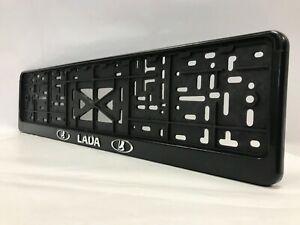 """""""LADA"""" LUX HOLDER FOR EU EURO EU PLATFORM EURO LICENSE PLATE For all Cars"""