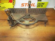 Antique Marshall Wells Miter Box Patent 1911 Cast Iron and Brass