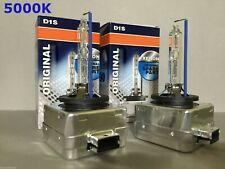 2PCS NEW OEM D1S 66144 66140 5000K HID XENON LIGHT BULBS SET FOR OSRAM