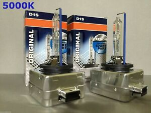 2PCS NEW OEM D1S 66144 66140 5000K HID XENON LIGHT BULBS SET HEADLIGHTS