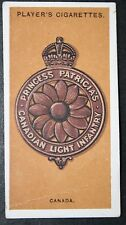 Princess Patricia's Canadian Light Infantry      World War 1  Vintage Card  VGC