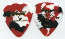TED NUGENT 2010 Trample Hurdle Tour Guitar Pick!!! Ted's custom concert stage #3