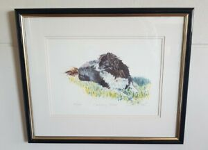 David (D. M.)Dent Framed Signed Limited Edition Print 133/850 Ready To Hang VGC