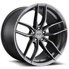 """4-Niche M204 Vosso 17x8 5x4.5"""" +40mm Gunmetal Wheels Rims 17"""" Inch"""