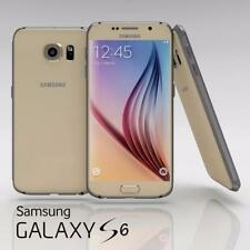 Cellulari e smartphone Samsung Galaxy S6 in oro con touchscreen