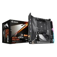 Gigabyte X570 I AORUS PRO WIFI Motherboard AMD Ryzen AM4 Max64GB DDR4 Mini-ITX