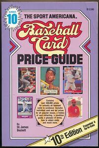 The Sport Americana Baseball Card Price Guide Number 10 Beckett
