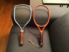 Lot of 2 Vintage Racquetball Racquets Wilson Marksman and Leach Bandido