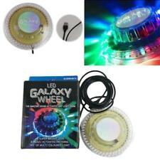 LAMPADA STROBO LED RGB PARTY GALAXI LUCI DISCO PARTY ROTANTE
