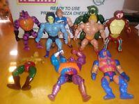 Vintage MOTU Masters of the Universe Action Figures He-Man SKELETOR Rio Blast
