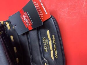 """Rawlings RSS125C 12.5""""  Leather  Baseball Softball Glove Basket-Web New W/Tags"""
