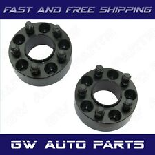 """2 PCs 2.5"""" HUB CENTRIC WHEEL SPACER 6X135 CB 87mm STUDS 14X2.0 FIT FORD LINCOLN"""