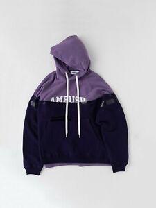 ambush taped hoodie purple size 2