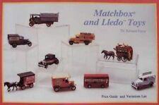 LIVRE : MATCHBOX AND LLEDO TOYS