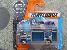 Matchbox 2017 #019/125 Aqua King blau silber Abenteuer Stadt Hülle E