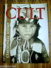 The Cult Concert Tour Program 1991 Ceremonial Stomp Ian Astbury