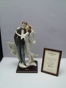 G. Armani Limited Edition 815C WEDDING Bride & Groom Porcelain Figurine #849