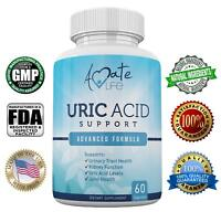 Amate Life Uric Acid Supports Kidney Cleanse, Joint Health & Body Detox 60 Caps