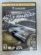 NO GAME / NO DISC Need for Speed Most Wanted Nintendo Gamecube CASE ONLY manual