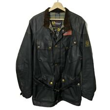 Belstaff STEVE MCQUEEN REPLICA RACING 1964 Rare Trialmaster Waxed Jacket Brown S