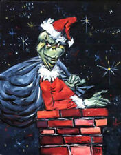 "THE GRINCH ~ ""YOU'RE A MEAN ONE"" GICLEE SIGNED BY CHUCK JONES ~ RARE LTD. ED."