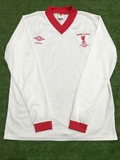 "Liverpool 1977-78 Away FOOTBALL LEAGUE CUP FINAL Retro Shirt( Size L45"")"