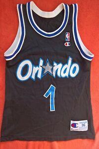 Orlando Magic NBA Penny Hardaway CHAMPION basketball shirt jersey trikot jacket