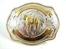 Plata Caballo Hebilla de Cinturón 11142013