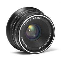 7artisans 25mm F1.8 APS-C Manual Focus Lens For Olympus Micro 4/3 MFT Mount