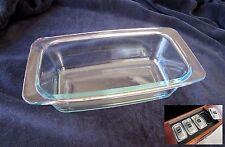 Genuine Original Glass Hostess Trolley Serving Dish Philips Royal Ekco Glasbake