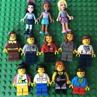 Lego Minifigure Women Girl Lot City Town Female People Lady Friends Minifig Lot