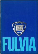 Lancia Fulvia Manual published by the Lancia Motor Club PDF Autumn 1977