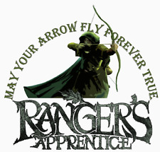 The Rangers Apprentice - Book Week Costume 15x14cm -  IRON ON T-SHIRT TRANSFER