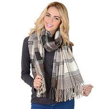 Women's Plaids Checks Acrylic Scarves & Shawls