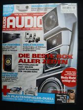 Audio 5/04, Wilson Alexandrie x2, NAD T 163,973, Vincent SAV p200, C 1, rotel rmb1075