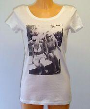 Esprit Women T-Shirt weiß mit Fotoprint Größe M