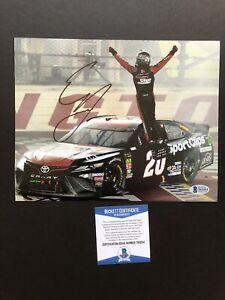 Erik Jones autographed signed 8x10 photo Beckett BAS COA NASCAR Toyota Daytona