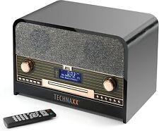 Technaxx [Retro DAB +/FM Stereo Radio with CD Player & USB Bluetooth Recording P