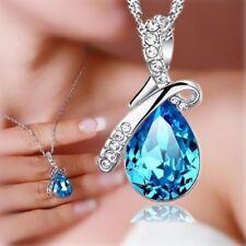 Modeschmuck-Halsketten & -Anhänger aus Kristall mit Strass Liebe & Herzen