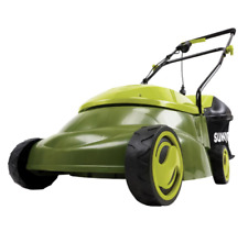 Push Lawn Mower Corded Electric Walk Behind Compact Lightweight Powerful Motor