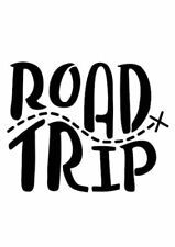 Road Trip Vinyl Decal Sticker 111mm x 90mm