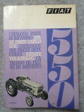 FIAT TRATTORI 550 + 550 DT Catalogo parti di ricambio