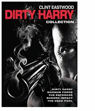 Dirty Harry 5 Film DVD Collection Clint Eastwood R4 Enforcer MagnumForce Deadpoo