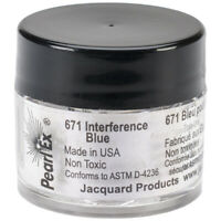 Jacquard Pearl Ex Powdered Pigment 3g-Interference Blue, JACU-671
