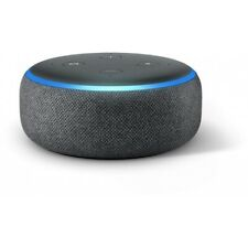 Amazon Echo Dot 3.Generation anthrazit Lautsprecher mit Alexa Amazon Music