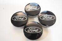 4x  54mm Ford noir jantes couvercle moyeux capuchon roue Focus Fiesta Mondeo ST