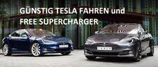 ⭐️ TESLA Model X / S E AUTO KAUF-GUTSCHEIN ⭐️ free Supercharger + 25 € Cash NEU