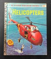 "Vintage Little Golden HELICOPTERS ""A"" 1st Edition"